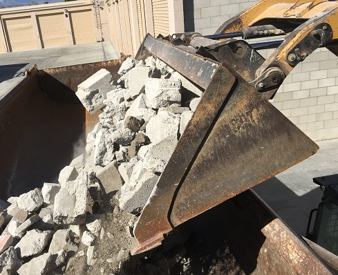 Rock Hammer Demo Concrete Removal and Concrete Disposal Services